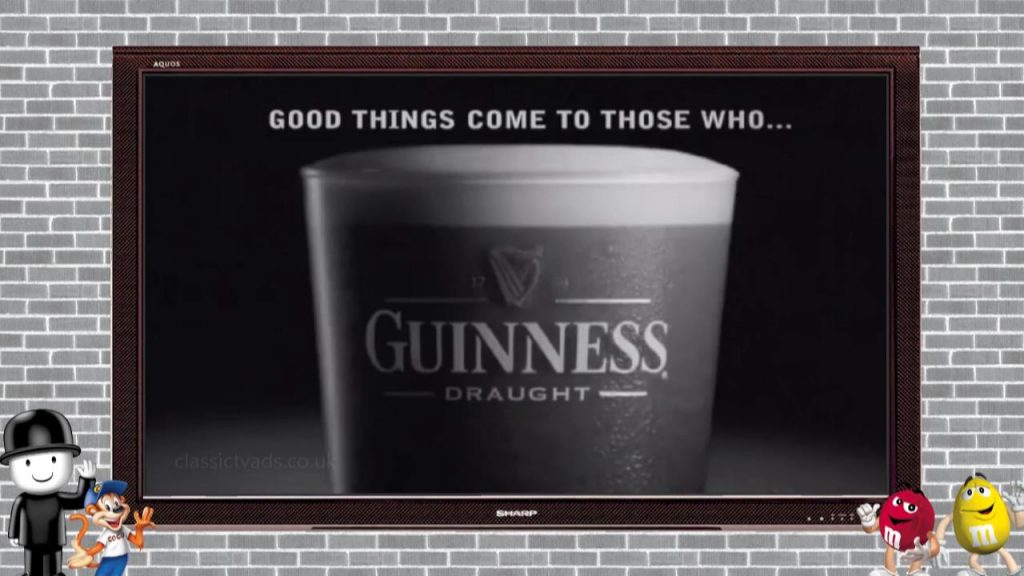 Guinness – white horses