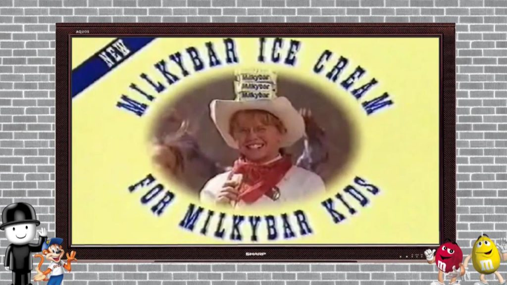 Milky Bar Ice Cream