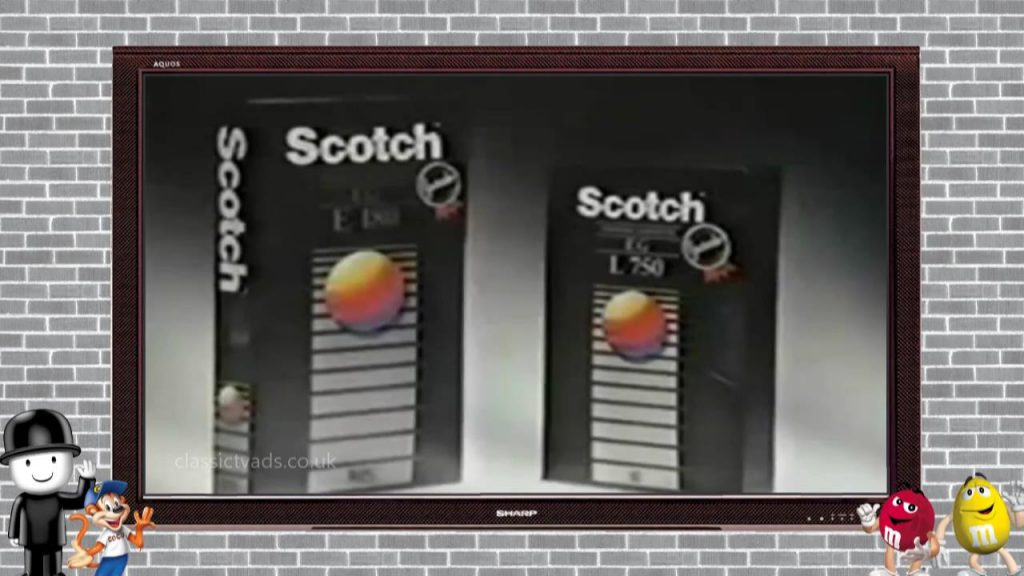Scotch Video Tapes – 1985